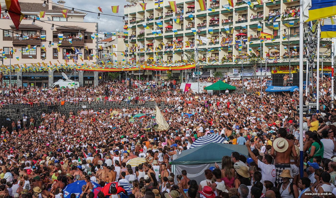 Fiesta del Carmen, Embarcacion, Puerto de la Cruz, Teneriffa