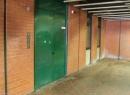 Eine unscheinbare Tür am Raschplatz in Hannover. Wer ahnt schon...