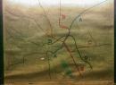 Hier ist das damals geplante Tunnelnetz zu sehen. A, B, und C-Tunnel wurden wie geplant errichtet, der D-Tunnel blieb unvollendet.