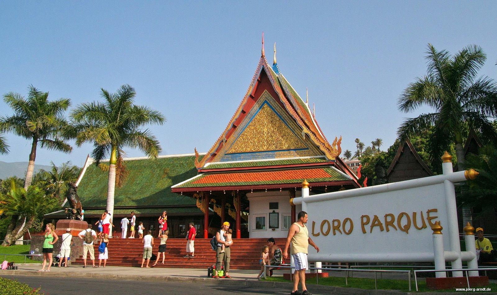 Rundgang durch den Loro Parque - Puerto de la Cruz - Teneriffa.