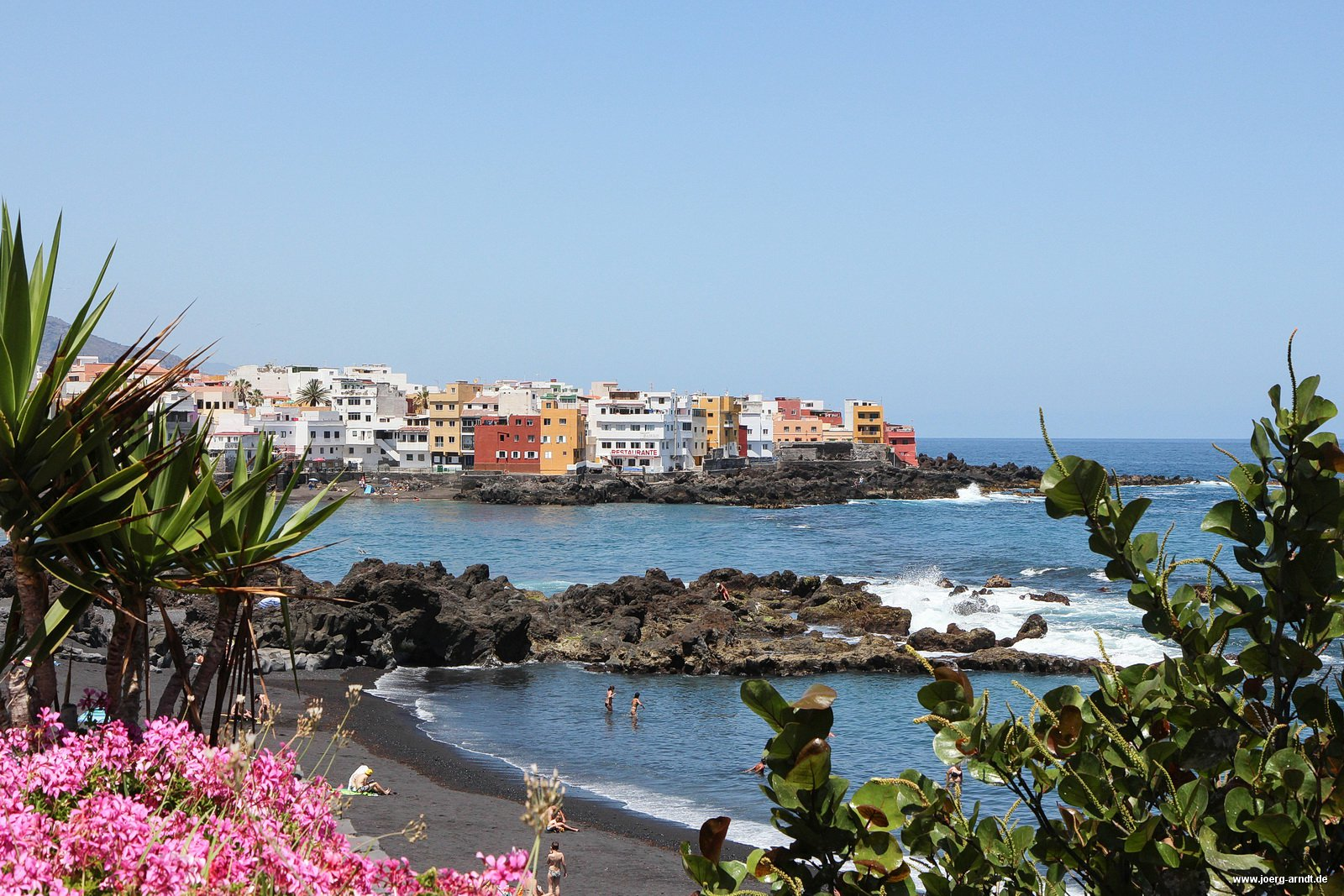 Alles rund um playa jardin den strand von puerto de la cruz puerto de la cruz entdecken - Puerta de la cruz ...