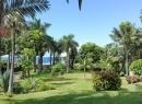 Hier befinden wir uns ziemlich genau in der Mitte des Playa Jardín, mit Blick von der vorbeiführenden Avenida Loro Parque.
