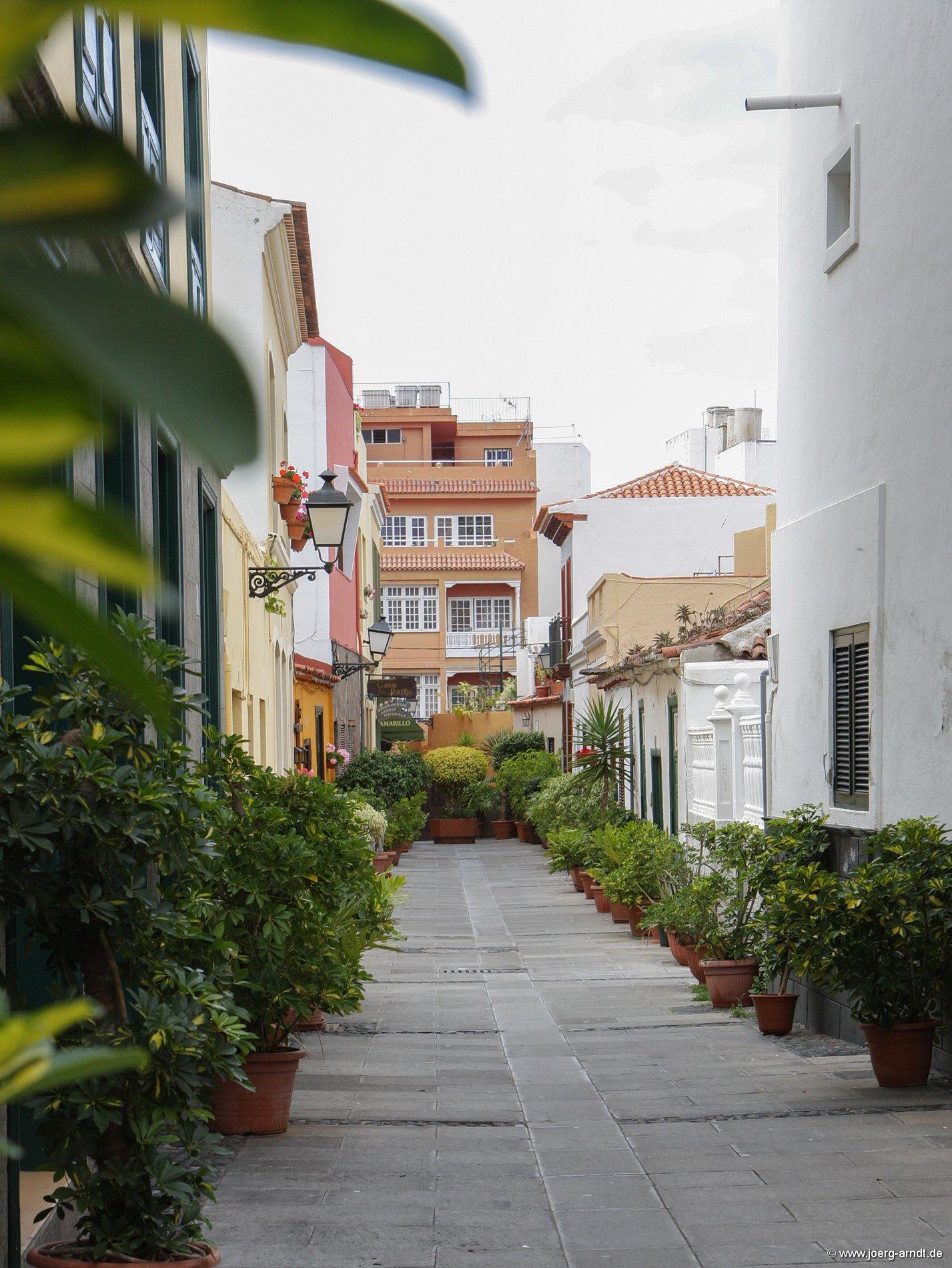 Impressionen aus der Altstadt von Puerto de la Cruz.