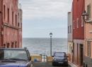 Calle Pelicar: Hier ist Sackgasse. Wer's nicht glaubt, parkt sein Auto direkt im Atlantik.