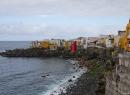 Blick von der Calle Tegueste zur nordwestlichen Spitze von Punta Brava.