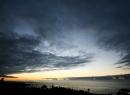 Abenddämmerung über der Playa Jardin und Punta Brava.