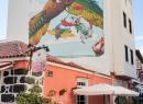 """...mal in bunt. Die Bilder sind im Rahmen des """"Puerto Street Art"""" Festivals entstanden."""
