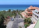 Der Blick hinunter zur Playa Jardín. Da geht's schon ein paar Meter stramm bergauf.