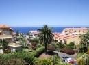 Ausblick von der Appartement-Anlage Strelizia Parque in Richtung Küste.