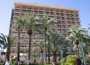 Blick auf das Hotel Orotava.