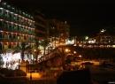 Nächtlicher Blick auf die Promenade San Telmo - hier noch vor der Sanierung.