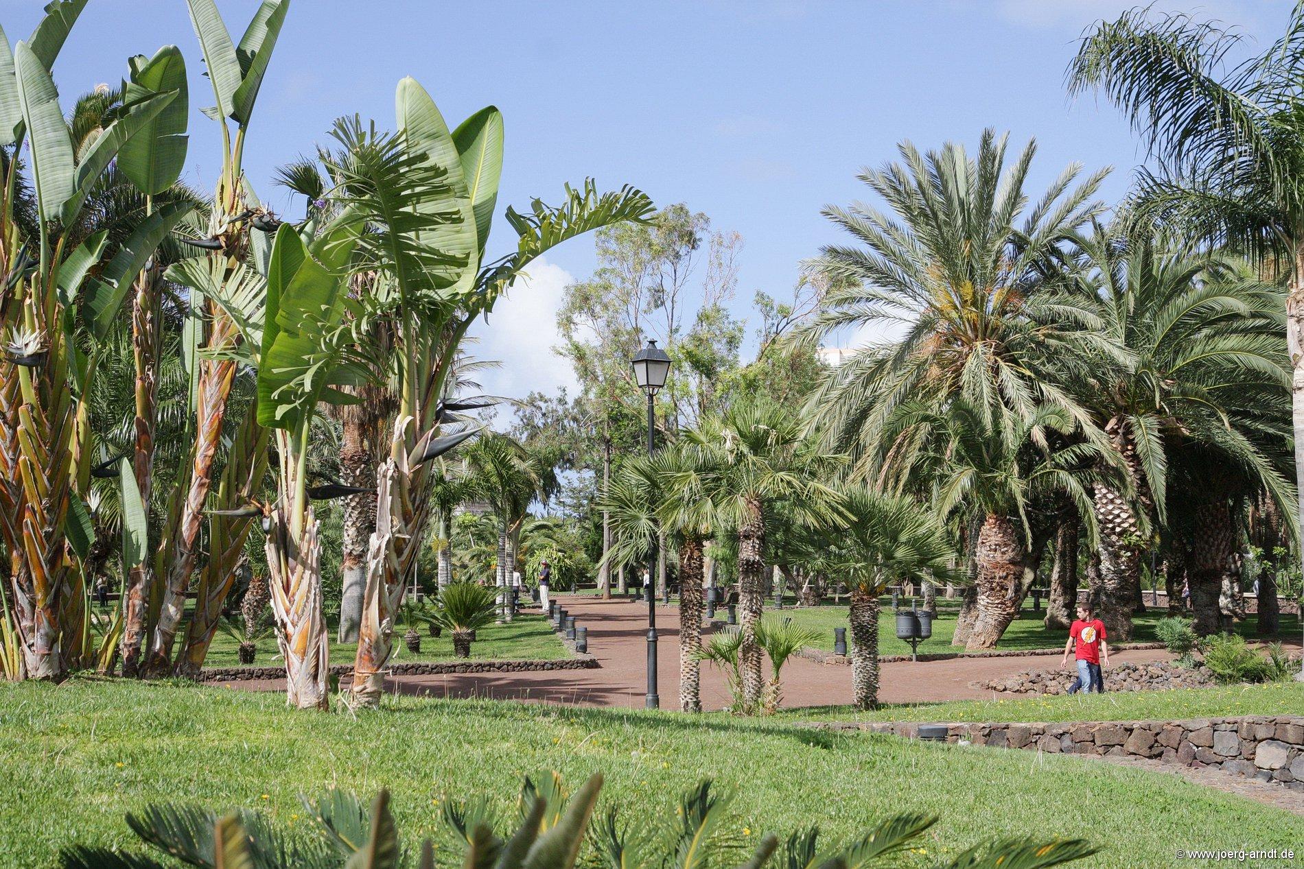 Der Taoro-Park in Puerto de la Cruz.