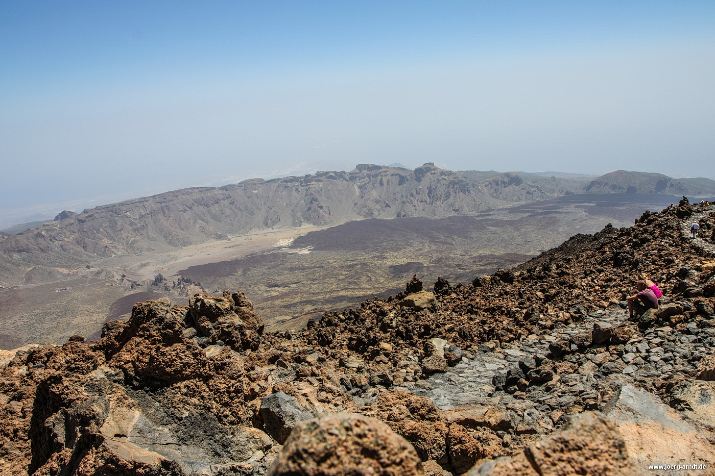 Teneriffa: Fahrt mit der Seilbahn auf den Gipfel des Teide.
