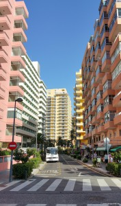 Hochhäuser an der Avenida Venezuela.
