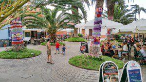 Die Plaza Benito Pérez Galdos.