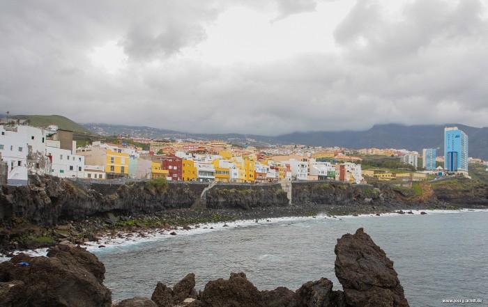 Blick auf Punta Brava aus Richtung Meer
