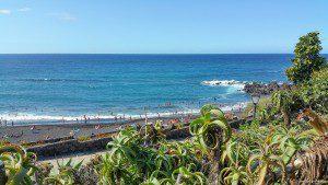 Blick auf den westlichen Teil des Playa Jardín.