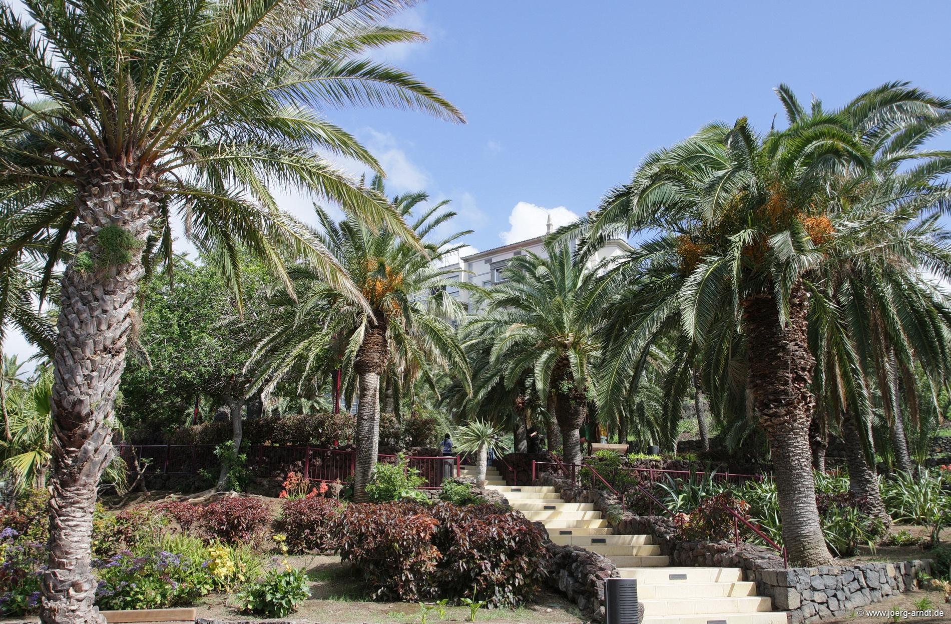 Der Taoro Park in Puerto de la Cruz.