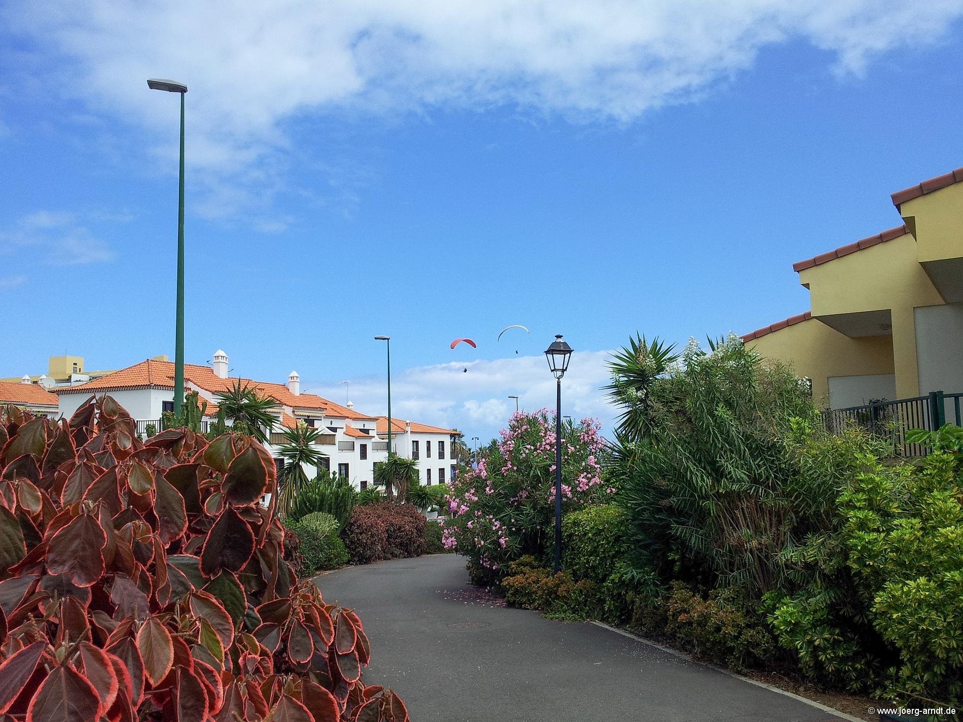 Hochhäuser wie im Ortskern von Puerto sucht man in La Paz zum Glück vergebens.