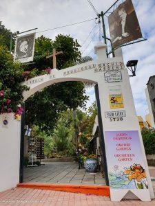 Der Sitio Litre Garten ist täglich geöffnet
