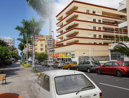 Foto-Vergleich: Puerto früher und heute